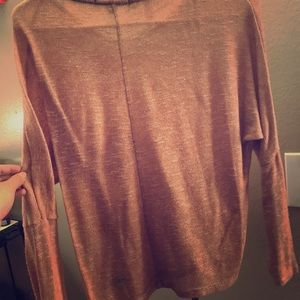 Loose fitting sweater